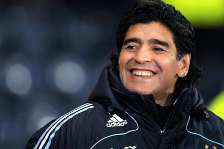 Paco Casal y Maradona