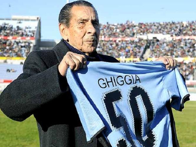 Ghiggia y Francisco Casal