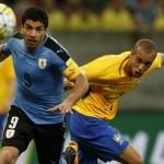 Eliminatorias Rusia 2018: Luis Suárez le da el empate a Uruguay contra Brasil