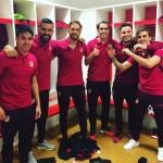 Diego Godín no se rindió ante el Barcelona