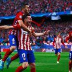El Atlético Madrid golea al Lokomotiv en Moscú