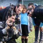 """Diego Godín filma campaña del """"día del Padre"""" de la empresa estatal Antel"""
